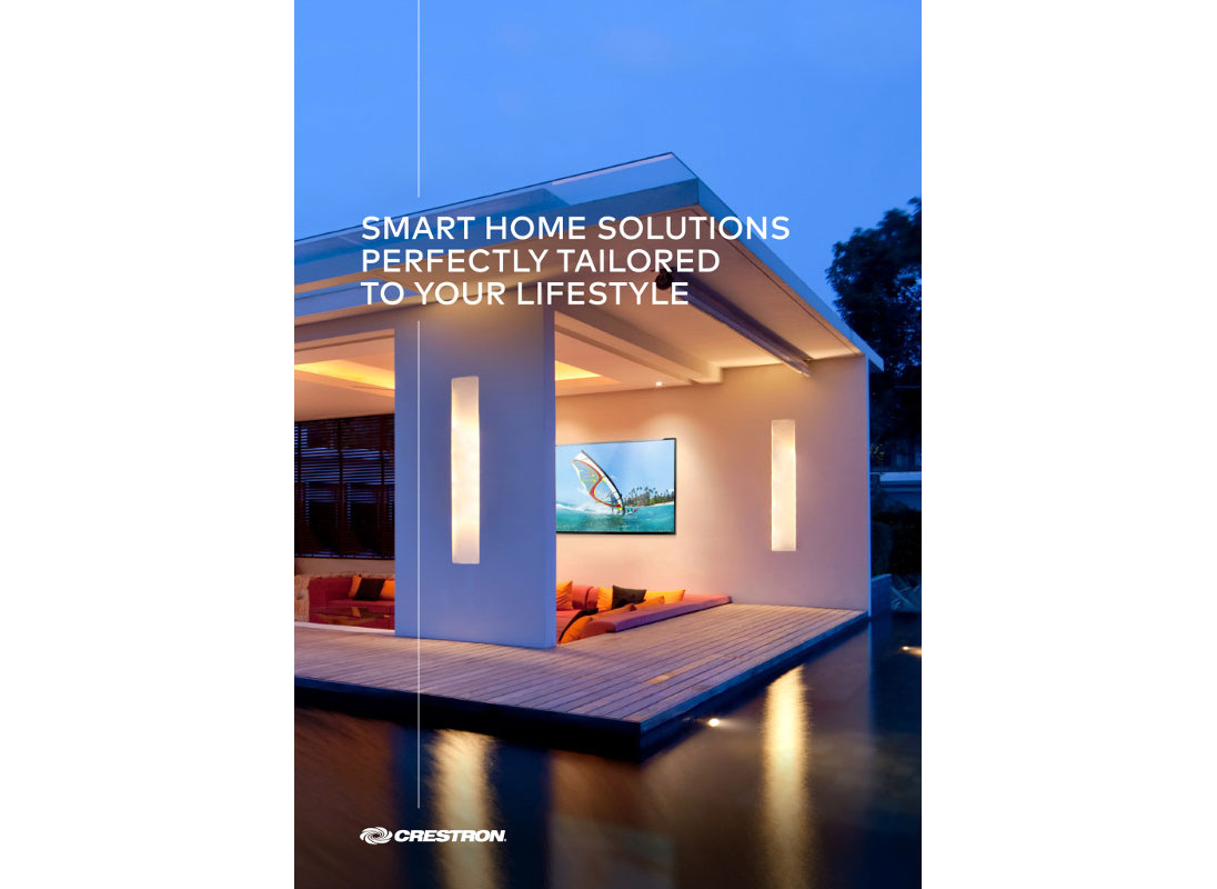 Crestron Home Brochure 2019