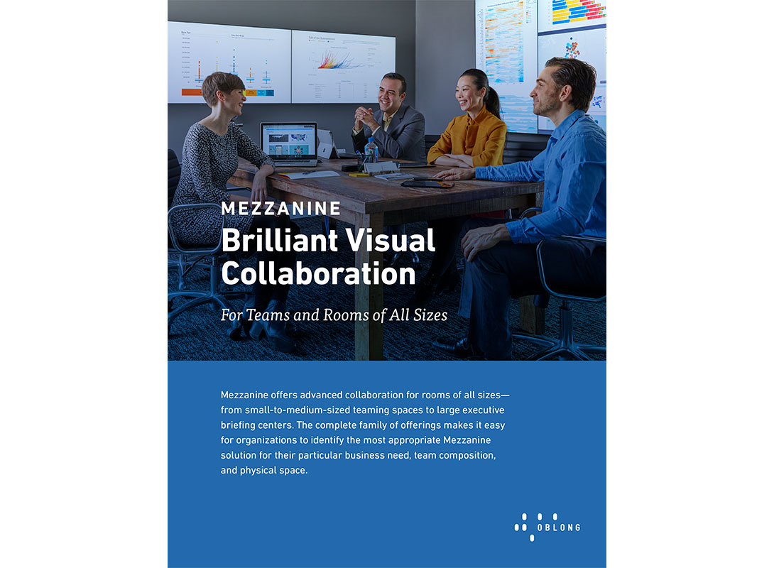 Oblong Mezzanine Brilliant Visual Collaboration